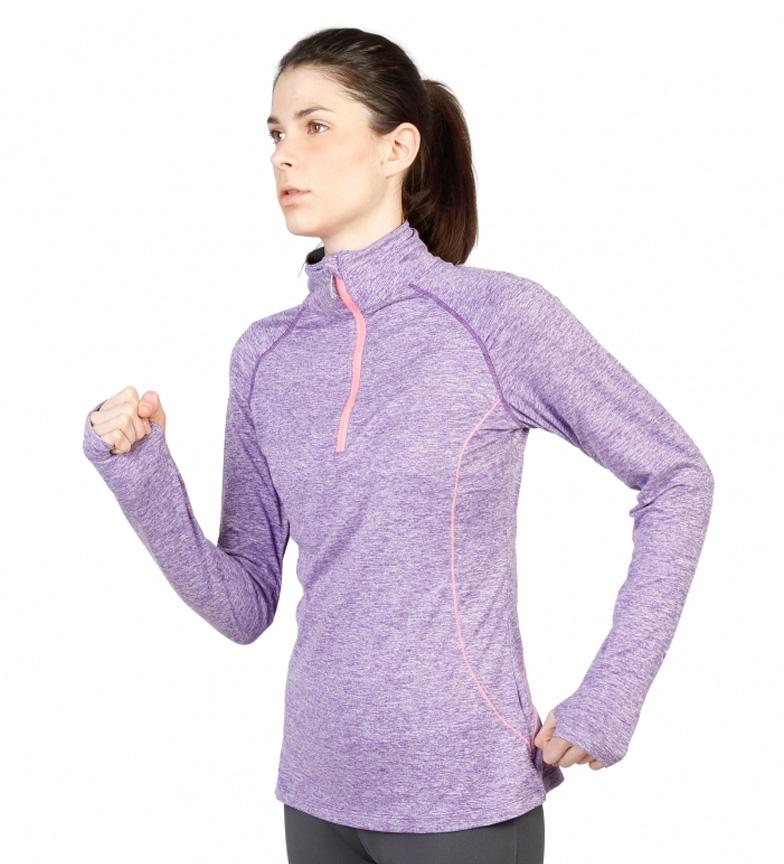Sport Lila Elle Jaspeado Eyra Camiseta 3Aqj54RL