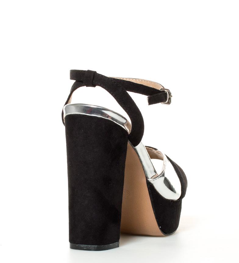 MARIAMARE Sandalias Ivana negro Altura tacón + plataforma: 13cm