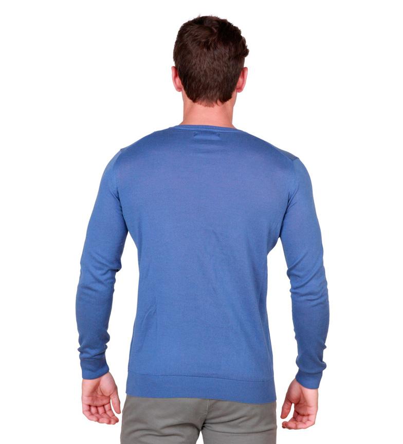 Trussardi Jersey C / Pico Gjennomsnitt Azul kjapp levering salg shop tilbud Mq5IDuUg