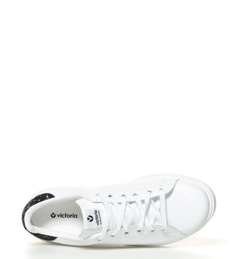 de Zapatillas Zapatillas blanco Victoria cuero de blanco cuero Victoria Victoria qpt6wH6