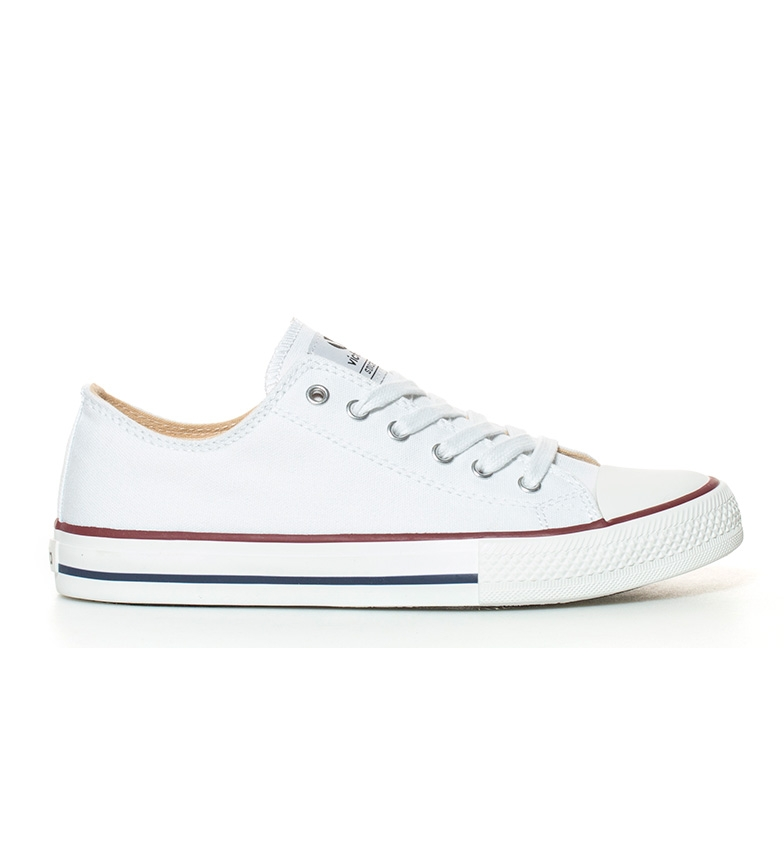 Comprar Victoria White basket style sneakers
