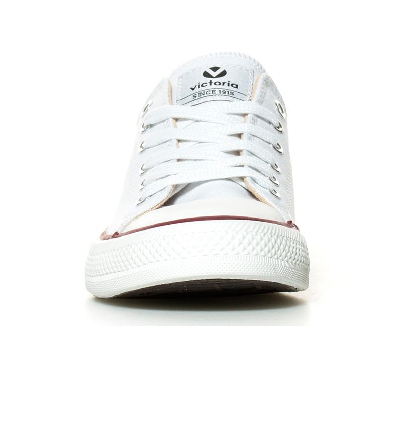 Victoria Zapatillas estilo basket blanco