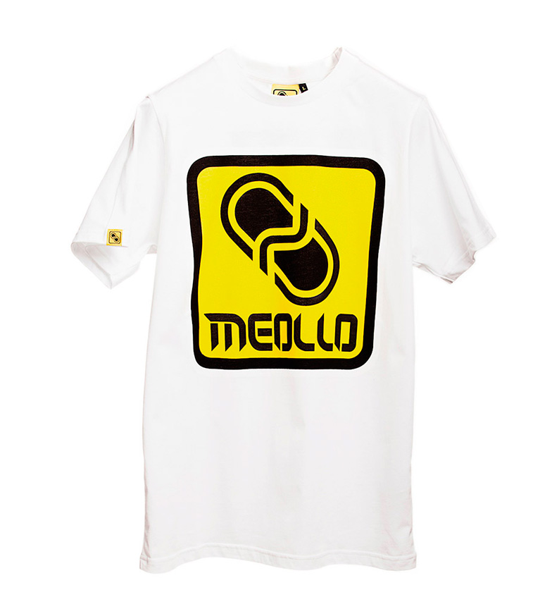 Camiseta Logo Meollo Meollo blanco Camiseta zBqnaX