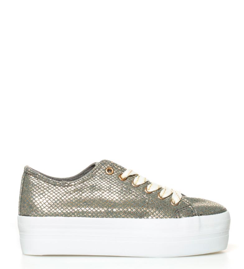 Compar Sixty Seven Zapatillas Lanzu gris, dorado -Altura plataforma: 4cm-