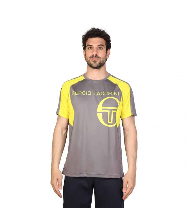 Sergio Kalkuner Camiseta Rosbe Gris, Amarillo
