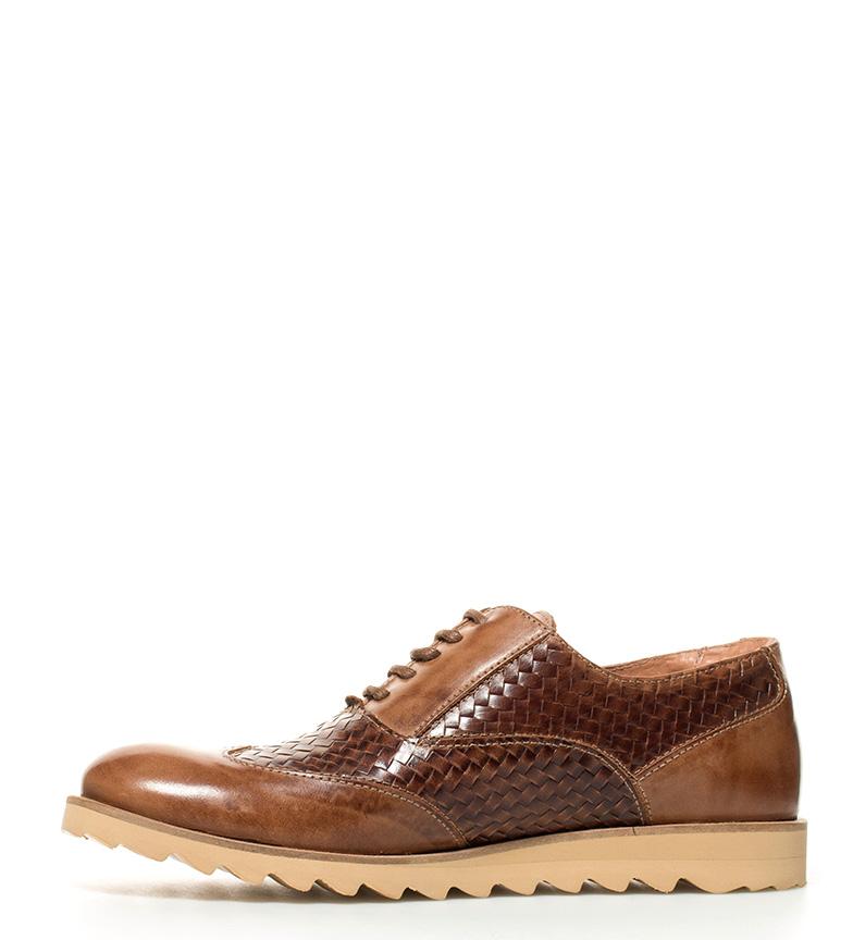 Fyord Zapatos de piel Vaner marrón