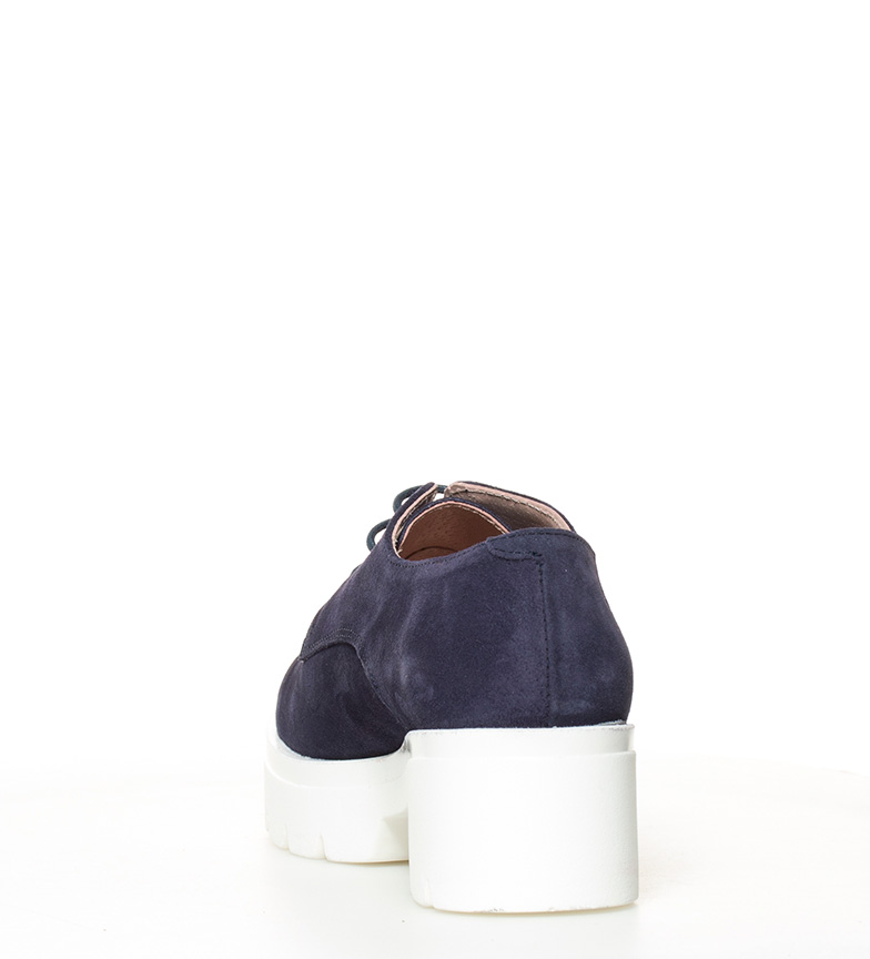 Zapatos plataforma de Yokono 5cm Altura piel marino 010 Victoria tacón v7qZ1qwa