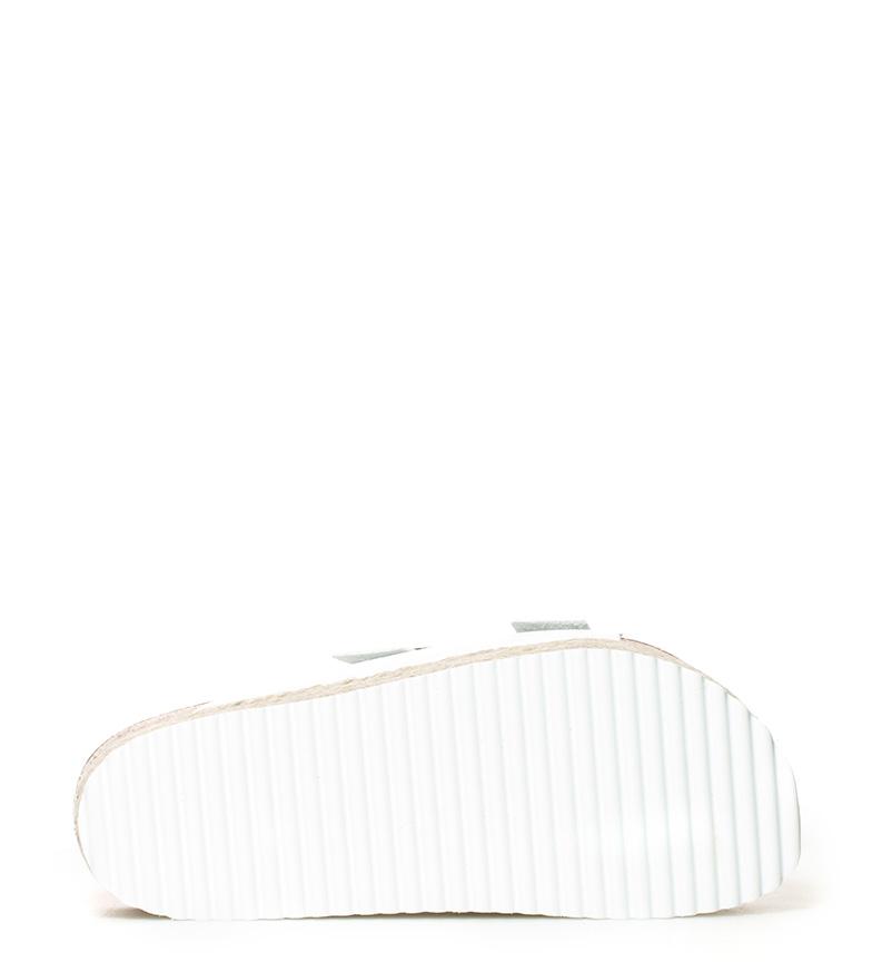 blanco Yokono 5cm Altura Sandalias Mykonos suela br 700S br ttnHwSBfgq