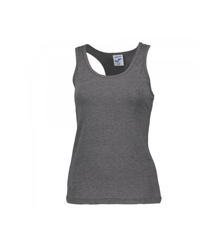 Joma-CAMISETA-SIN-MANGAS-VERDE-Mujer-chica-Casual-Deportivo-Outdoor-Rosa-Gris