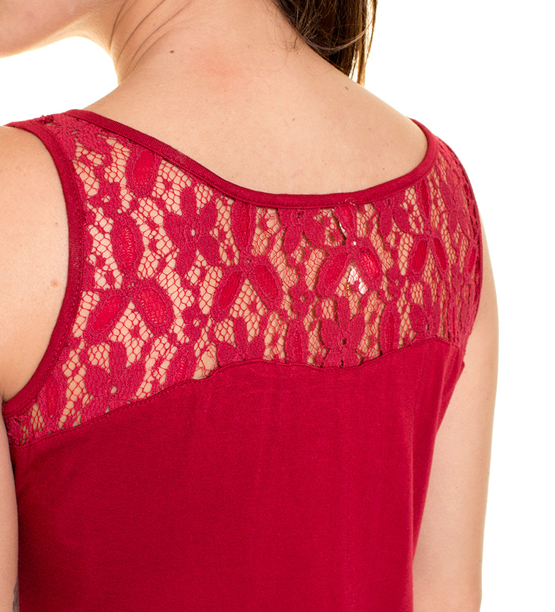 billig pris falske rabatt outlet steder Azura Rød Blondekjole shopping på nettet vWMZPDdPr