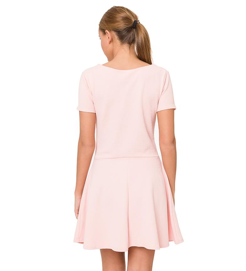 Azura Vestido m/c rosa