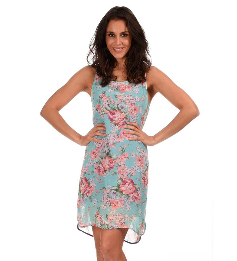 utløp rabatt billig salg ekstremt Azura Turkis Floral Kjole profesjonell billig pris butikk OUJZo12