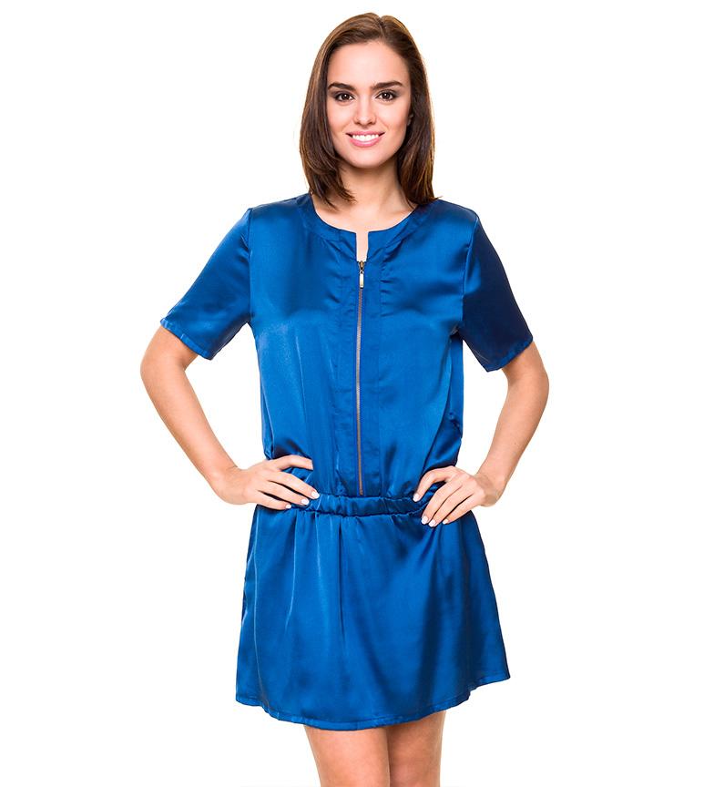 Comprar Azura Vestido de cetim azul