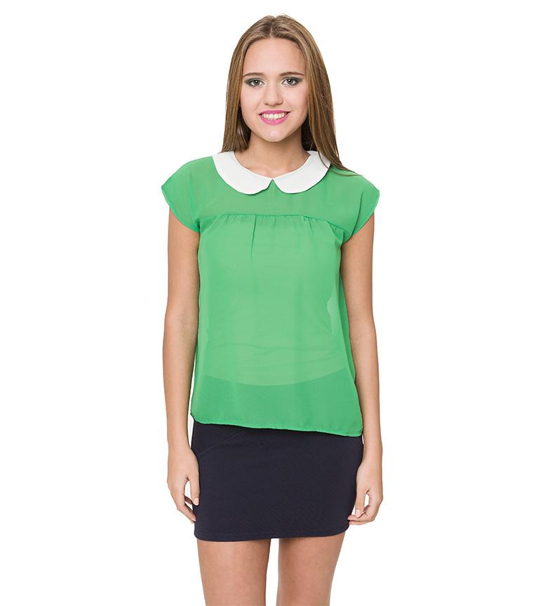 Comprar Azura Blusa transparente verde