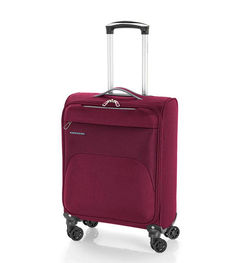Comprar Gabol Cabin Trolley Zambia burgundy -30x55x20cm-