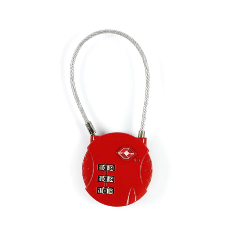 Comprar Gabol Combi vermelho cadeado