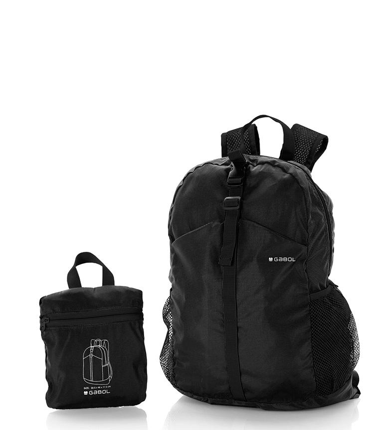 Comprar Gabol Mochila plegable negro -30x46x11cm-