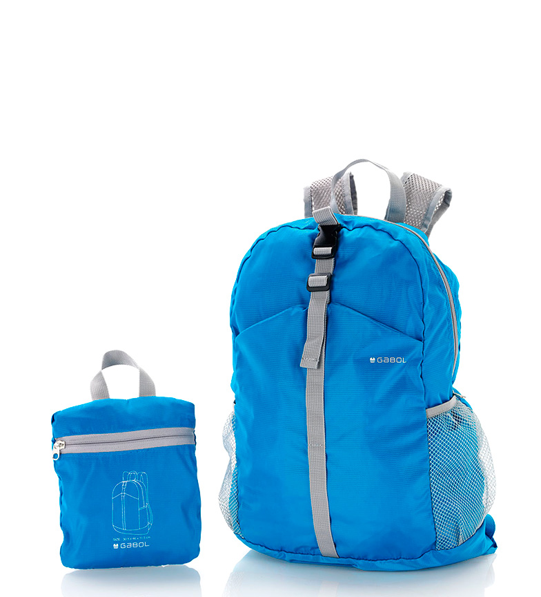 Comprar Gabol Sac à dos pliable bleu -30x46x11cm-