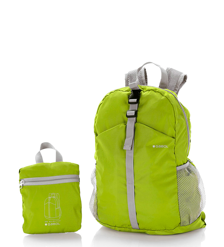 Comprar Gabol Mochila dobrável verde-30x46x11cm-