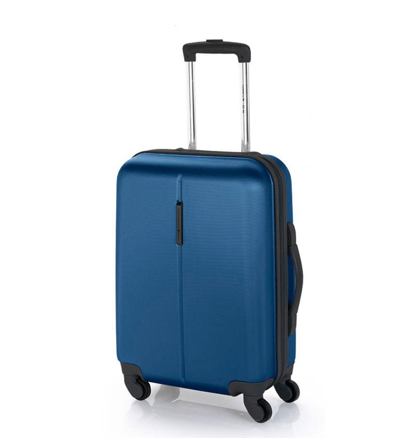 Comprar Gabol Trolley cabina Paradise cierre TSA azul -39x55x20cm-