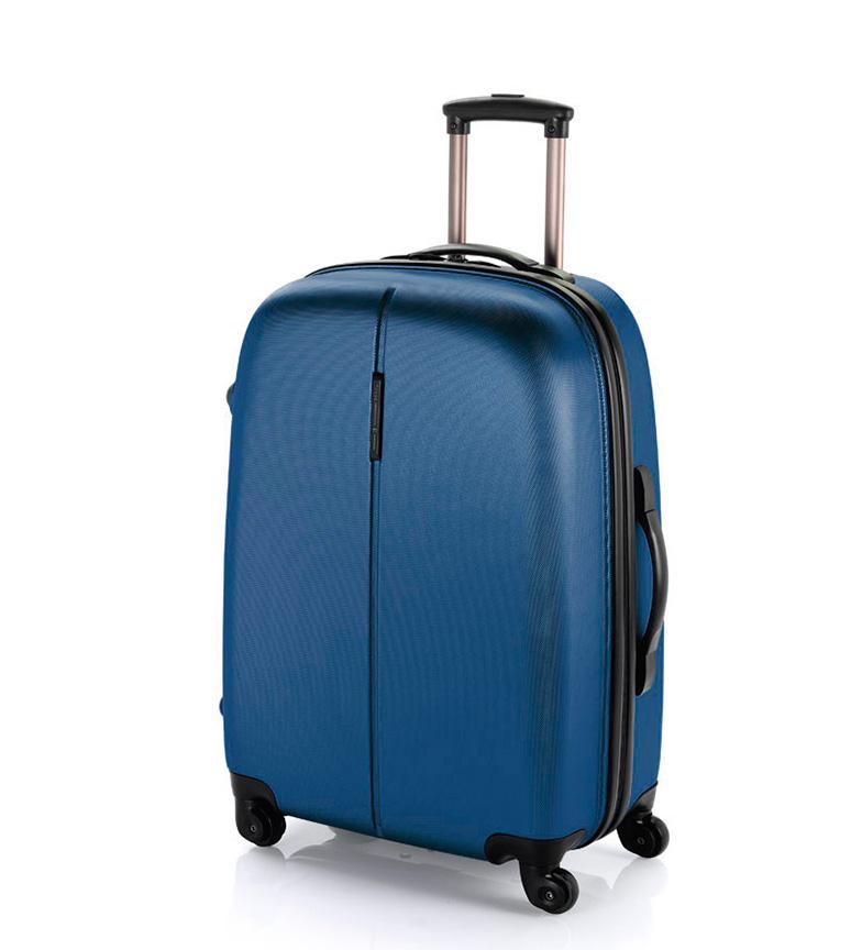 Comprar Gabol Medium Trolley Paradise TSA closure blue -48x67x27cm-