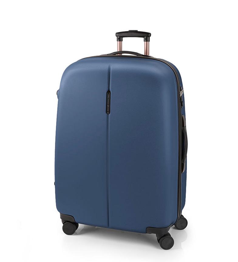 Comprar Gabol Grande blu fine TSA Trolley Paradise -56x77x32cm-