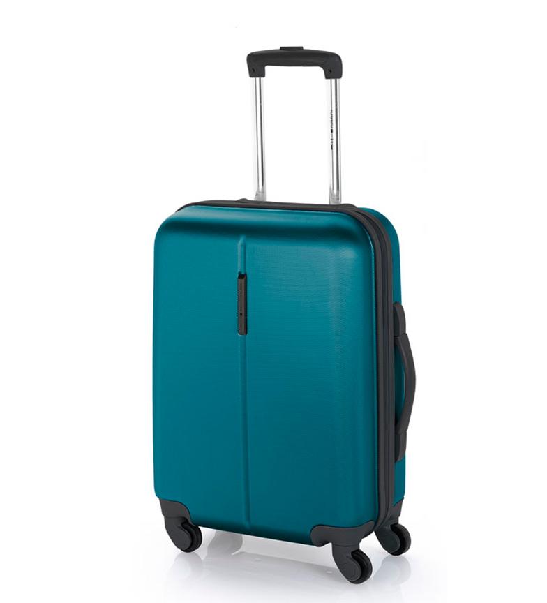 Comprar Gabol Trolley cabina Paradise cierre TSA turquesa -39x55x20cm-