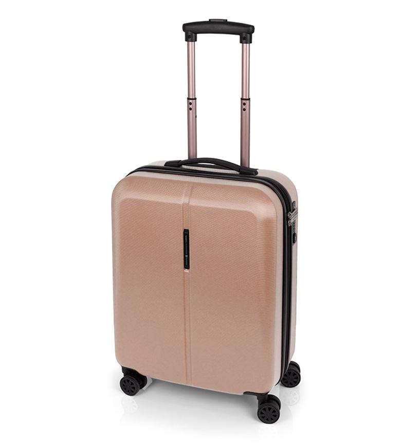 Comprar Gabol Trolley cabina Paradise cierre TSA beige -39x55x20cm-