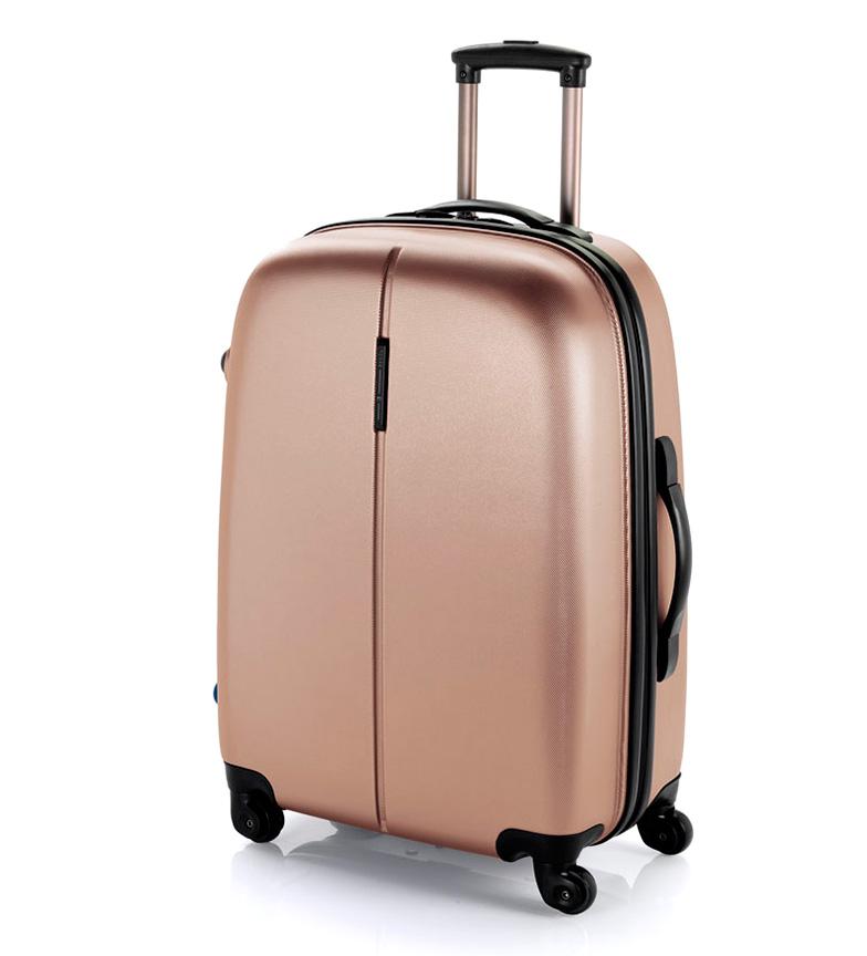 Comprar Gabol Paradise Media Trolley lucchetto TSA -48x67x27cm- beige
