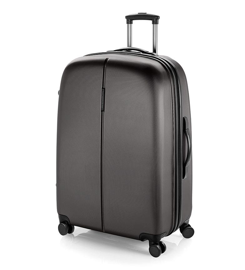 Comprar Gabol Trolley grande Paradise cierre TSA gris -56x77x32cm-