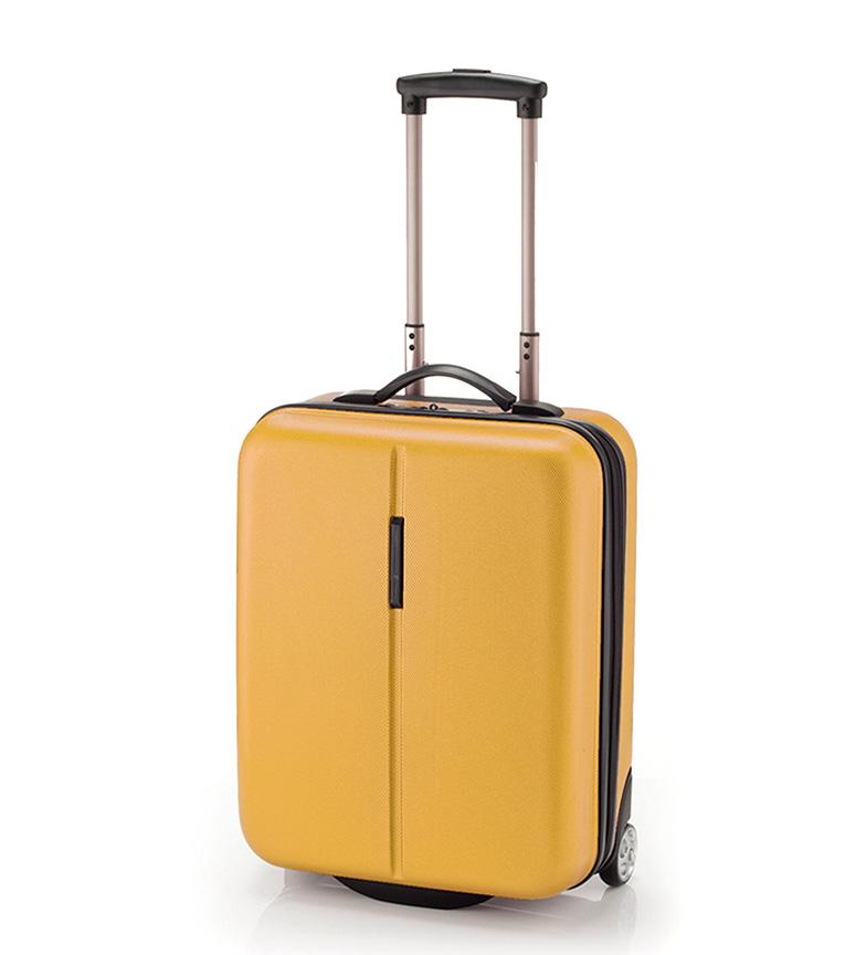 Comprar Gabol Trolley de cabina Paradise mostaza   -38x53x20cm-