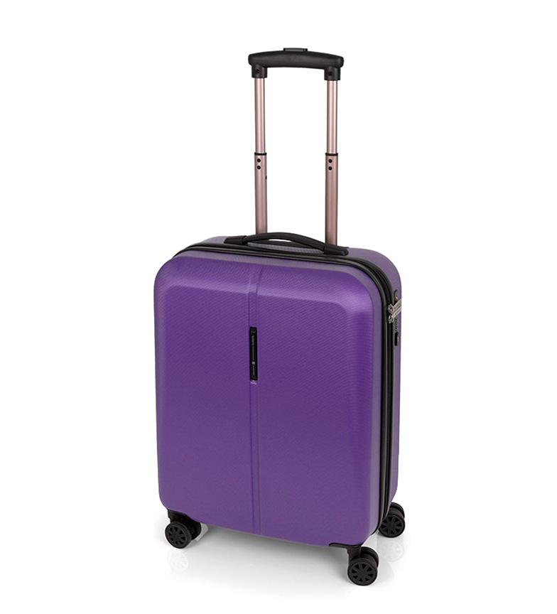 Comprar Gabol Trolley cabin Paradise closure TSA purple -39x55x20cm-