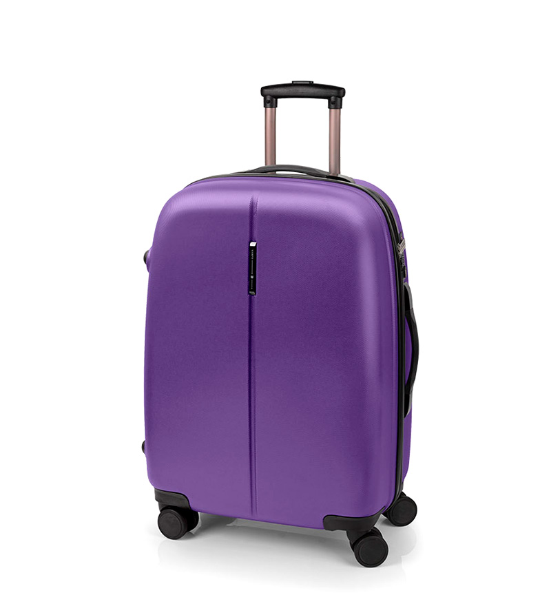 Comprar Gabol Trolley mediano Paradise cierre de TSA morado -48x67x27cm-