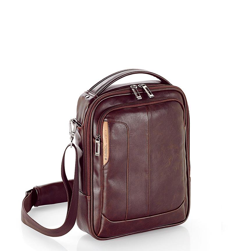 Comprar Gabol Shoulder bag Shadow brown-24x30x7 cm-