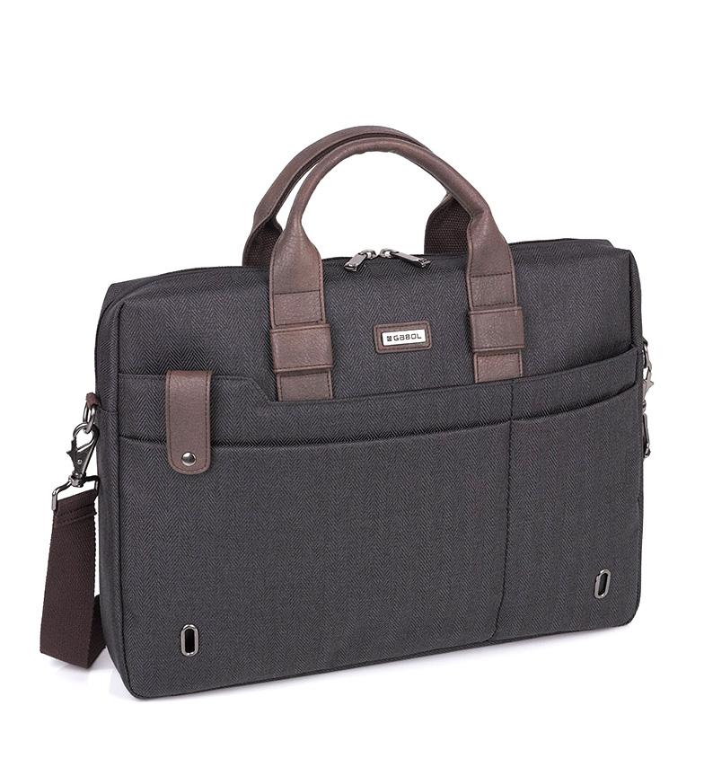 Comprar Gabol Maestro portafoglio grigio-42x31x8 cm-