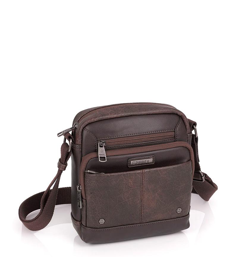 Comprar Gabol Poche sac à bandoulière brun-18x21x6 cm