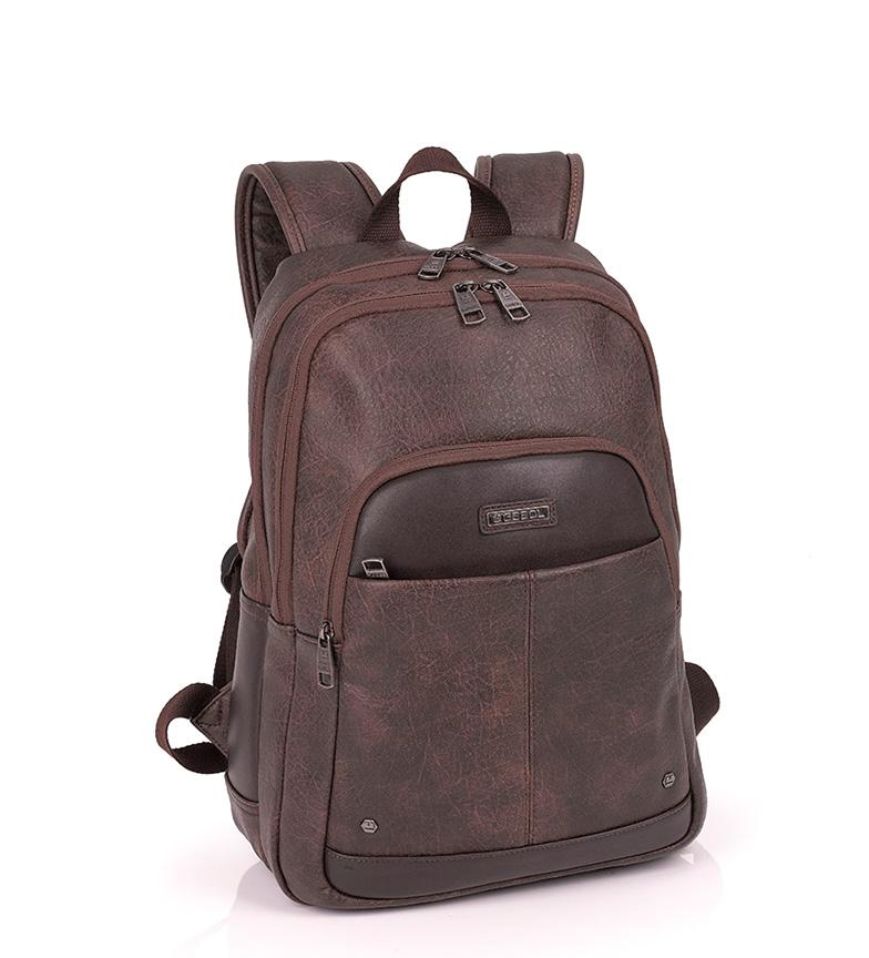 Comprar Gabol Mochila Pocket marrón-27x39x14 cm-
