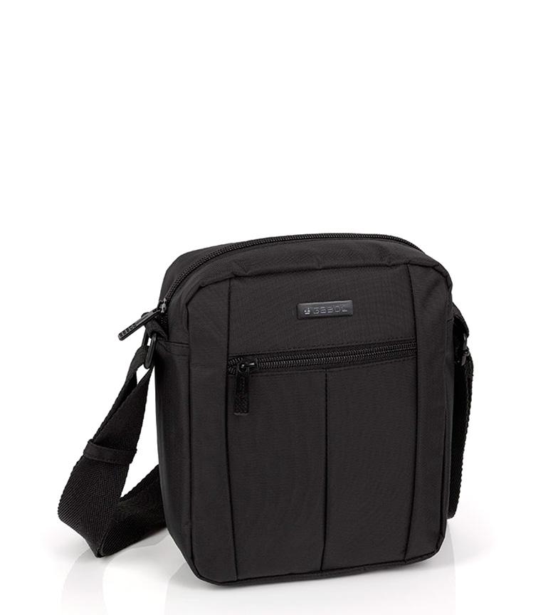 Comprar Gabol Bandolera Gear negro -18x21x7cm-