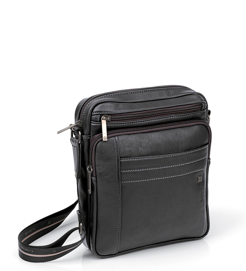 Comprar Gabol Black Borneo shoulder bag -22x27x5cm-