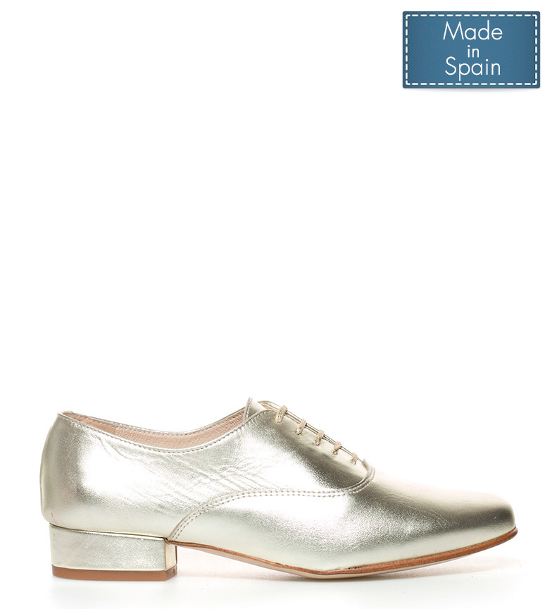dorado Zapatos de D´Chicas piel Tea wUqIrTdWAq