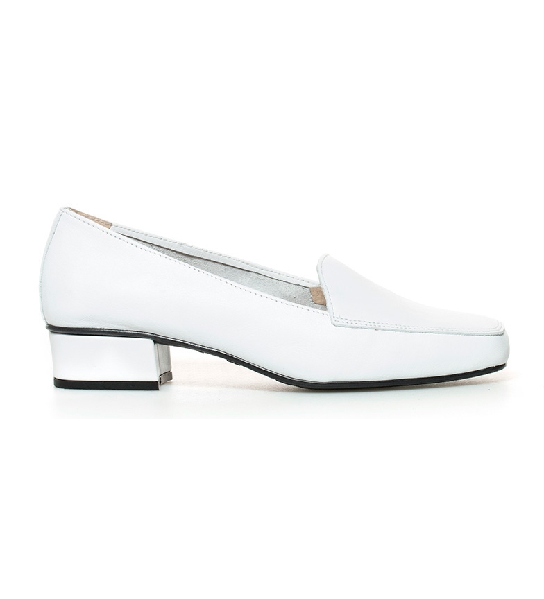 Comprar D´Chicas Leather Shoes Hebe White-Heel Height: 3cm-