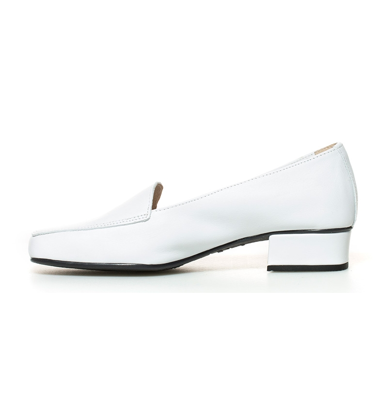 br br blanco 3cm Altura D´Chicas Zapatos Hebe piel de tacón Uq1WnIXwY