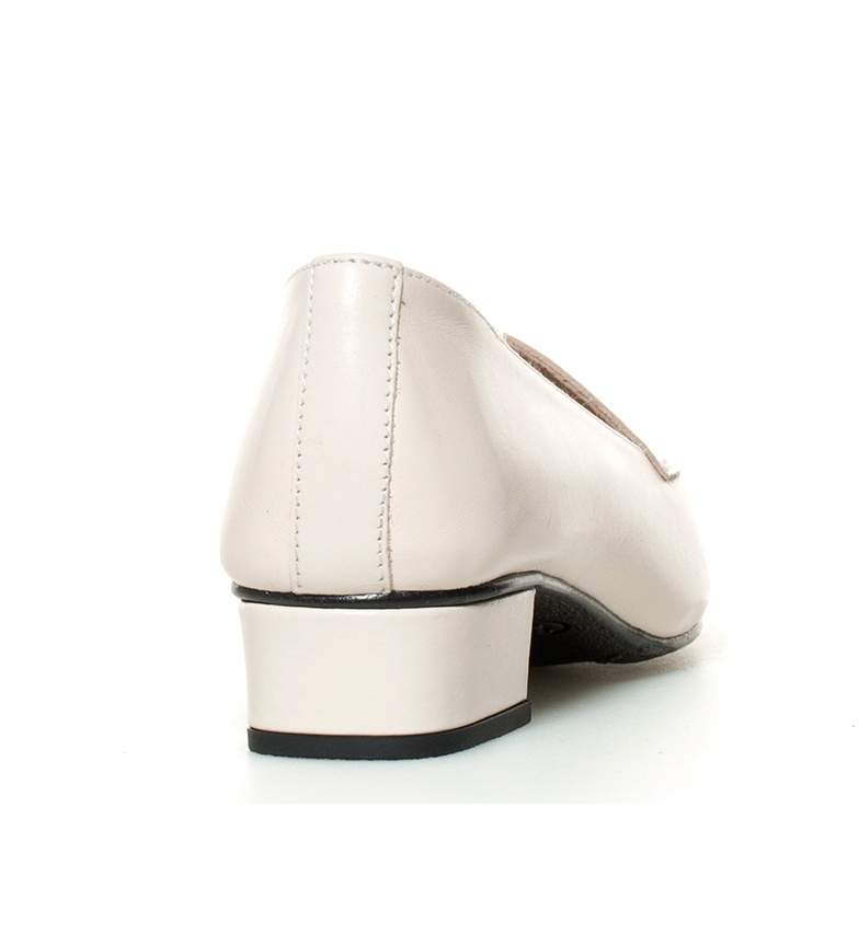 3cm Hebe crudo br tacón Zapatos D´Chicas de br piel Altura qRTIwzt