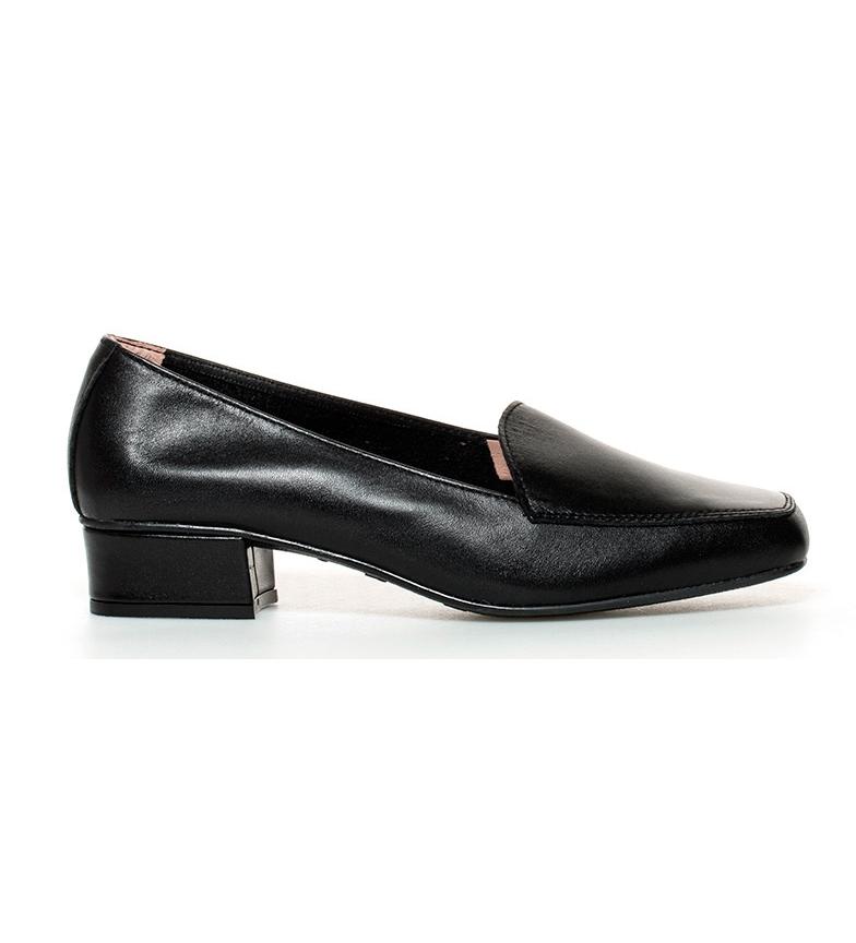 Comprar D´Chicas Cuir noir Hebe chaussures à haut talon: 3cm-