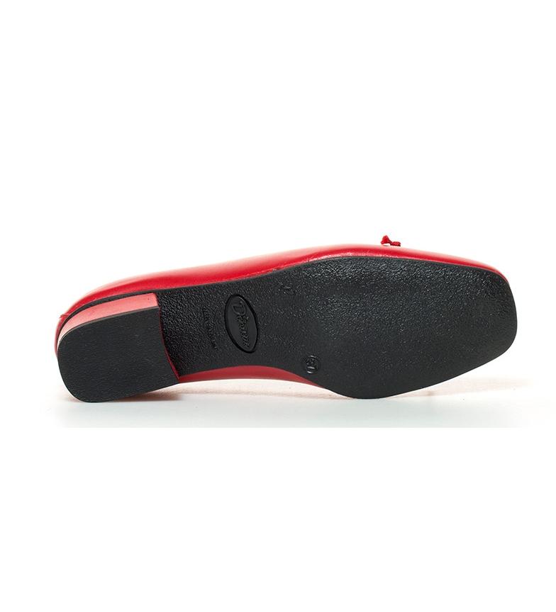 3cm piel Zapatos de br br Lux Altura D´Chicas rojo tacón x4BwRzqRnf