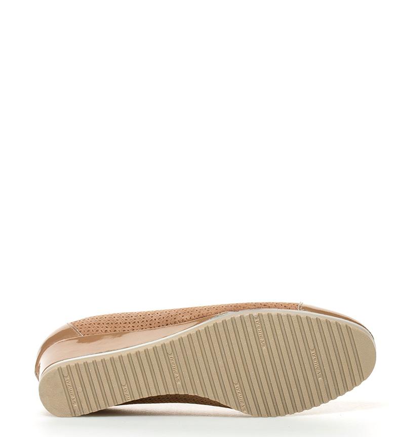 piel 4cm D´Chicas cuña dorado Zapatos Altura br de Mati br Ewvqgw