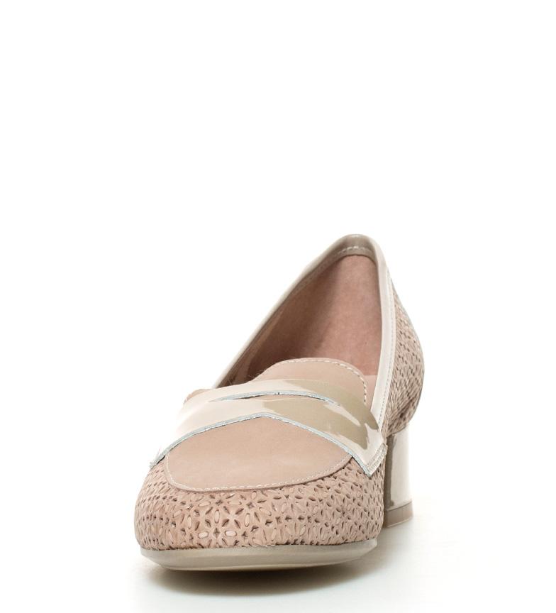 Zapatos beige Altura D´Chicas tacón 3 br br Tria 5cm dXxxRqwA