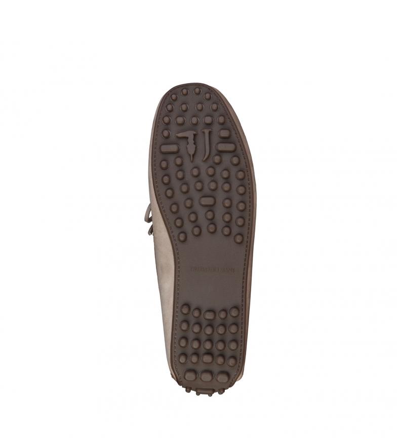 Trussardi Skinn Loafers Vison kjøpe online outlet salg ekte kjøpe billig virkelig billig rabatt autentisk c4LLDb8jC