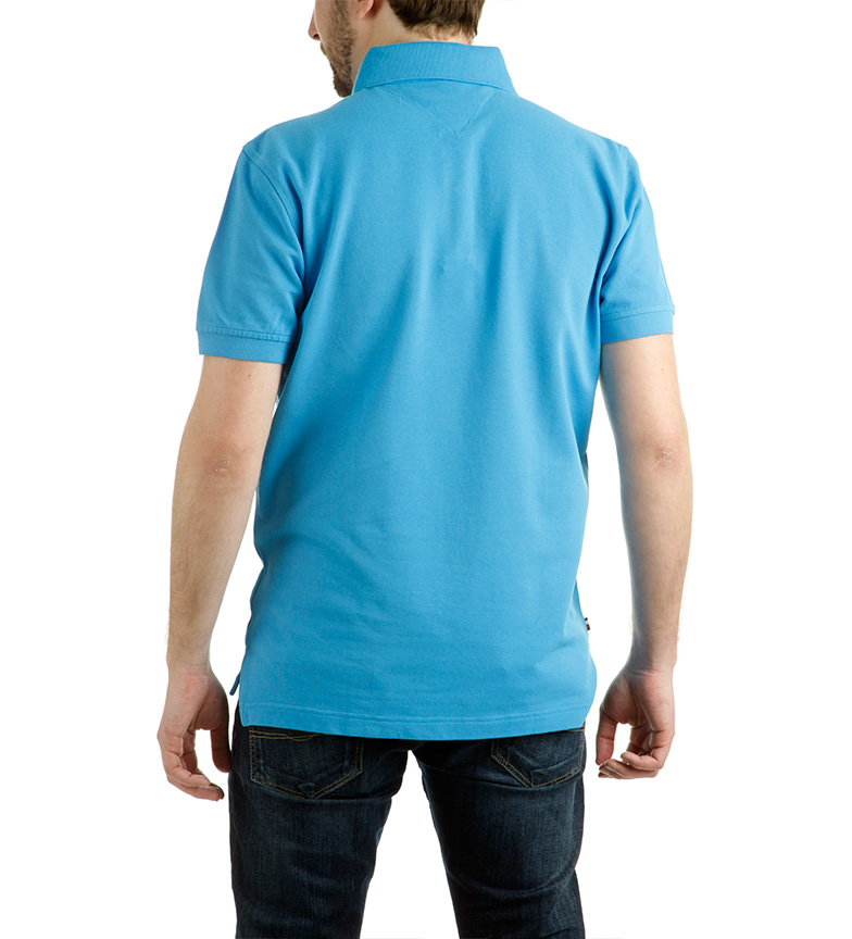 handle din egen Tommy Hilfiger Polo Ero Azul CEST online perfekt online klaring El35iz