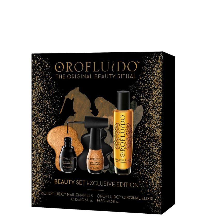 Comprar Orofluido Orofluido Lote 3 pz elixir original 50ml + 2 esmaltes uñas 15ml
